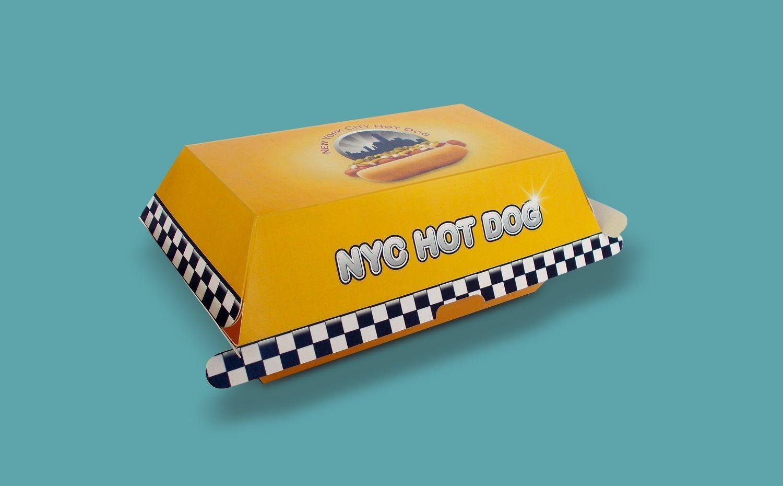 Hotdog box   Keskeny Nyomda
