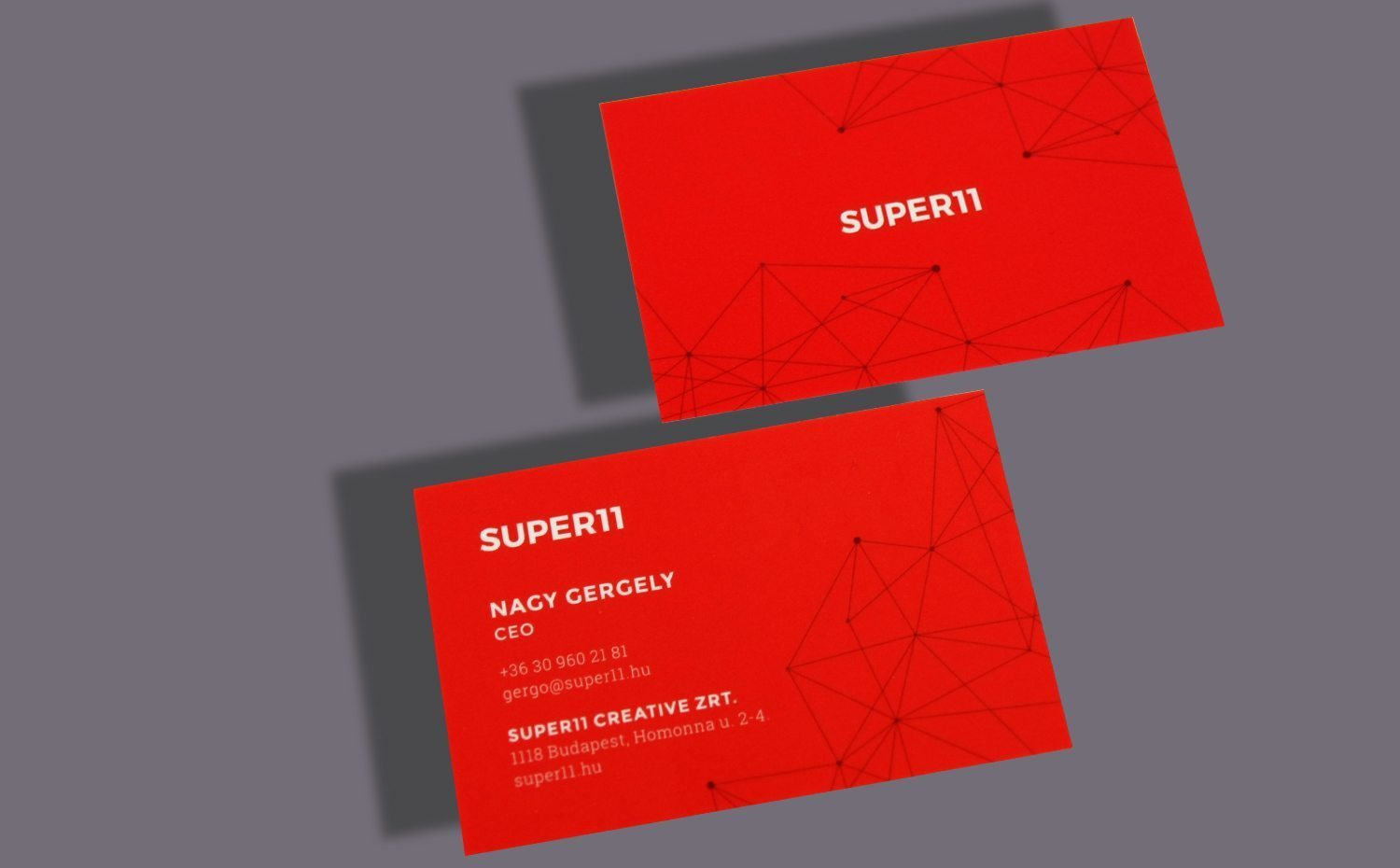 Business card | Keskeny Nyomda
