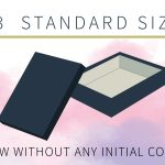 top- bottom rigid box standard sizes