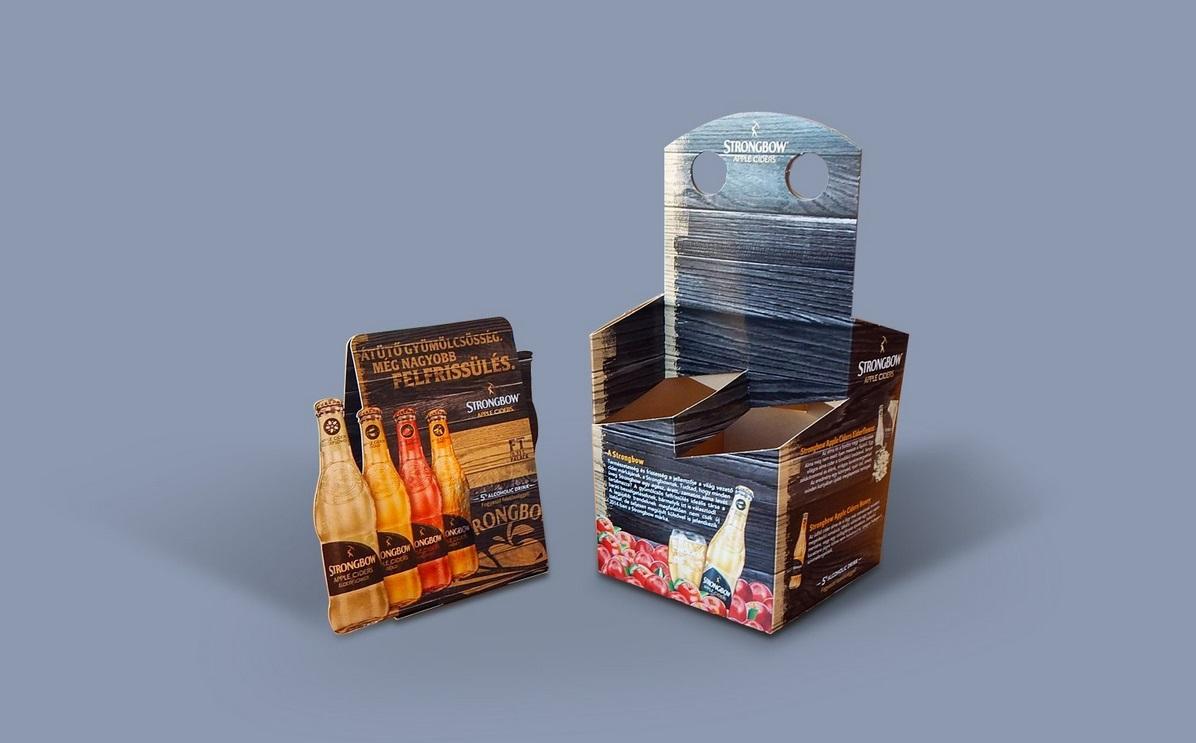 Trageverpackung für Getränke | Keskeny Nyomda