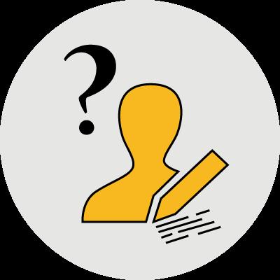 ügyfélszolgálat ikon