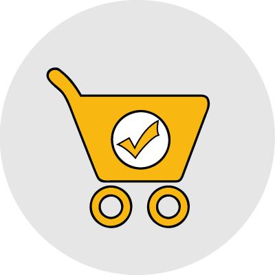 online vásárlás ikon