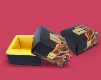 Carré táblás csokoládé doboz