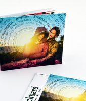 Prospekt / Broschüre in Heftbindung